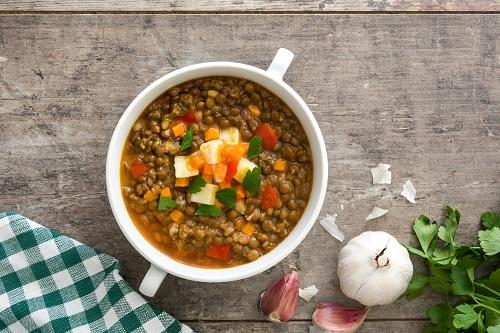 Italian Lentil Soup, Mediterranean Cuisine