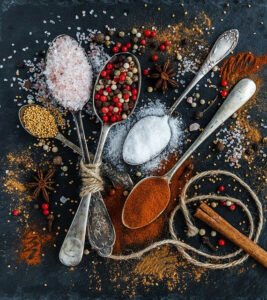 what spices go well with vegetables | spices and herbs for vegetables