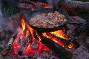 is cooking with cast iron healthy