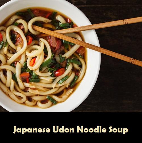 Japanese Udon Noodle Soup (Vegan)