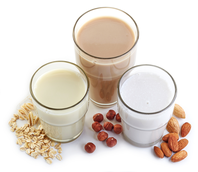 types of plant-based milk