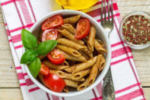 is whole grain pasta healthier